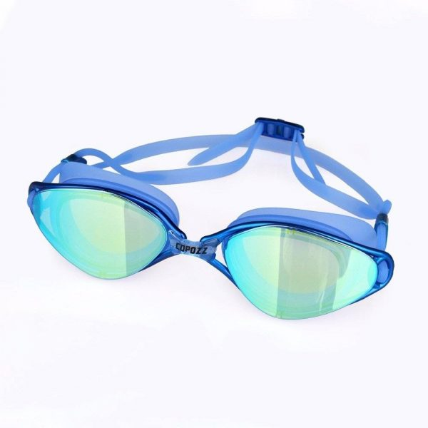 Stylish Fully Adjustable Professional Swimming Goggles Anti-Fog + UV Protection