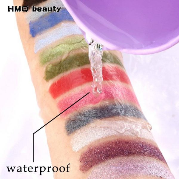 Double Ended Highlighter Glitter Eyeshadow Eyeliner Makeup Pencil in 12 Colors