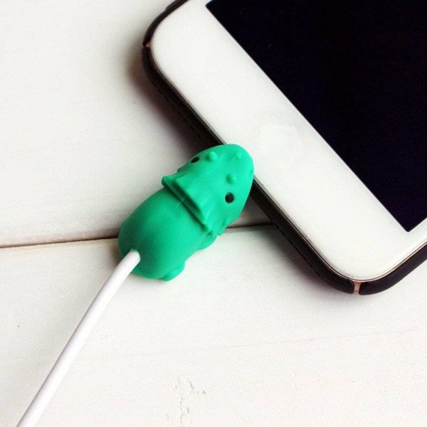Cute Animal Cable Protector Cord For Apple Lightning Charger Cable