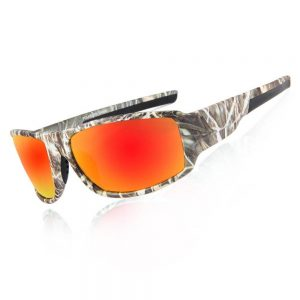 Camo Polarized Sport Fishing and Game Sunglasses