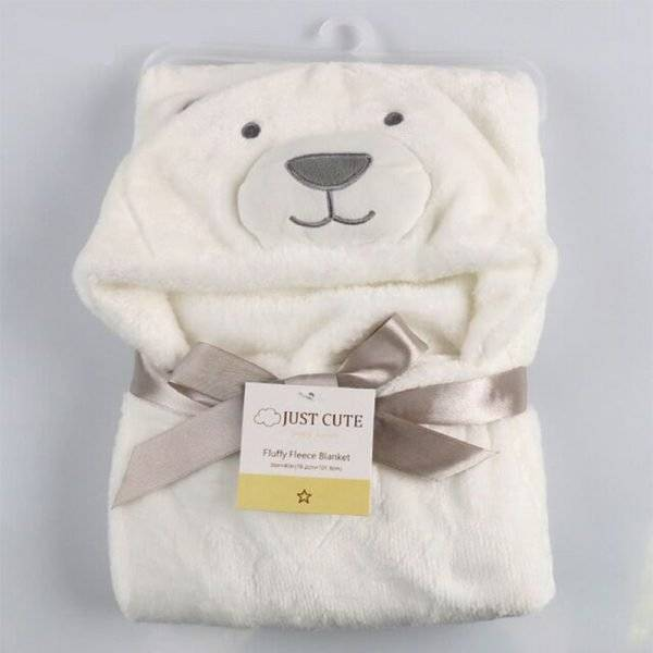 Soft Hooded Animal Baby Towel Bathrobe