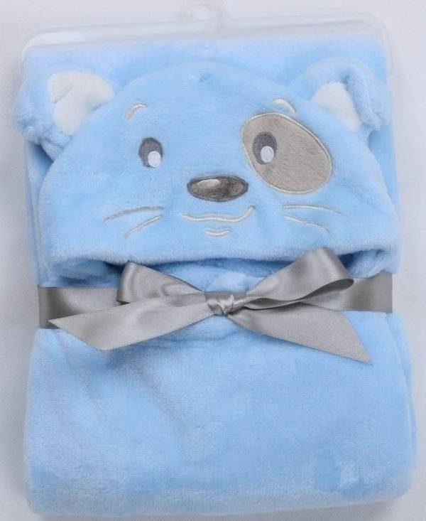 Soft Hooded Animal Baby Towel Bathrobe