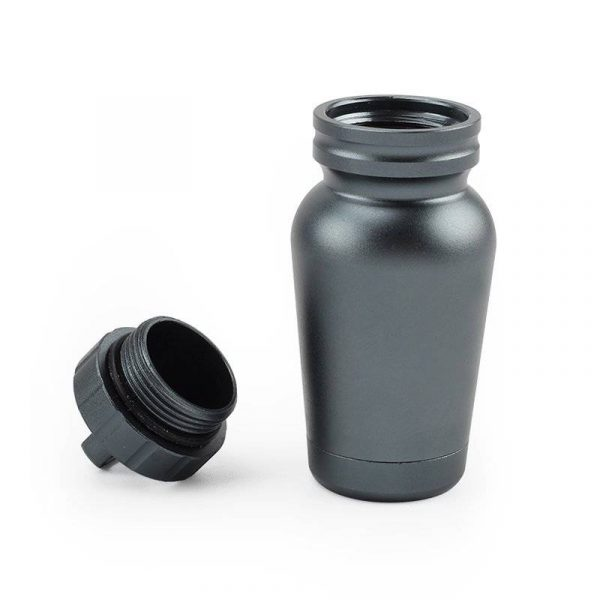 Tiny Aluminum Alloy Waterproof Canister
