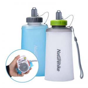 Portable Silicone Folding Bottle | For Airline Travel Sports and Hiking