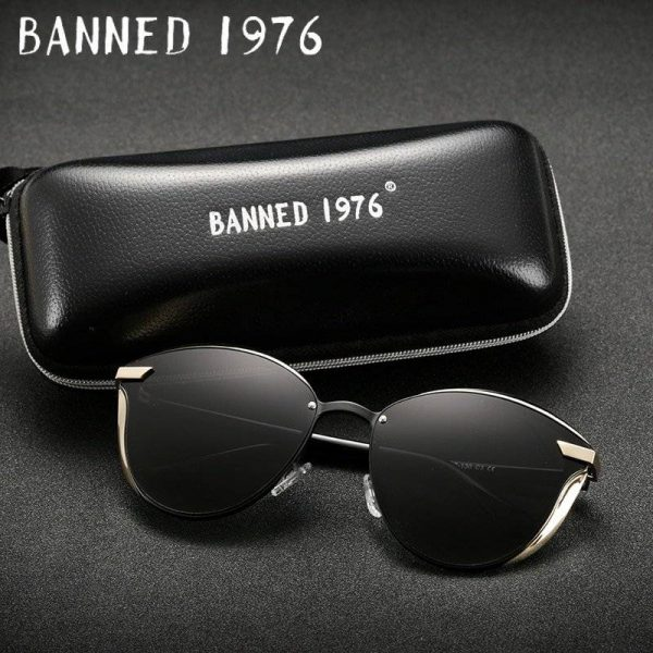 BANNED 1976 Designer Vintage Retro Oversized Womens Sunglasses