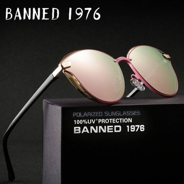 BANNED 1976 Designer Vintage Retro Oversized Womens Sunglasses