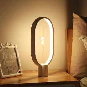 New DESIGNER LED Night Light MAGNETIC BALANCE SWITCH Lamp (USB POWERED)