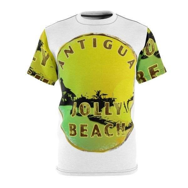 Tropical Antigua Jolly Beach T Shirt