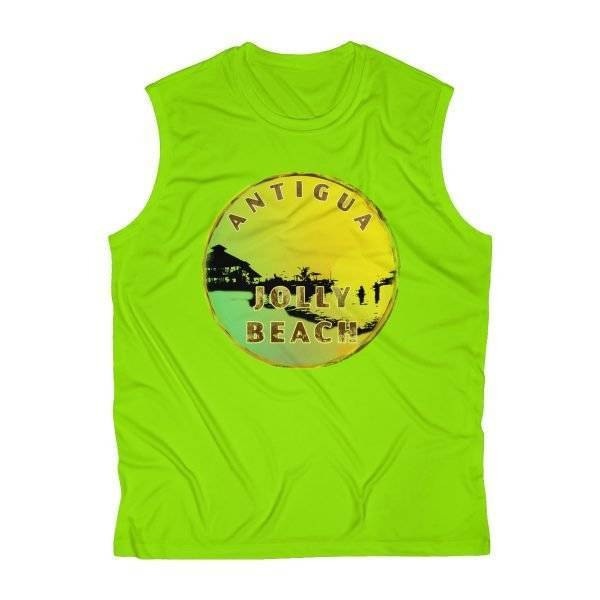 Antigua Jolly Beach Roundel Design | Men's Sleeveless Fitted Top