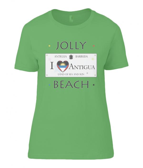 Antigua T Shirt for Women | Anvil Ladies T-Shirt Jolly Beach Veteran