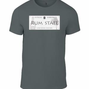 Mens Custom Antigua Rum State T Shirt