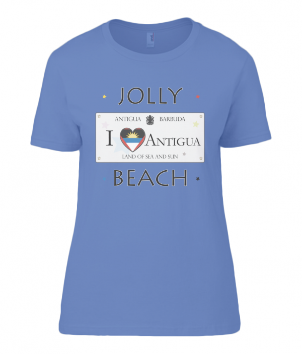 Antigua T Shirt for Women | Anvil Ladies T-Shirt Jolly Beach Veteran