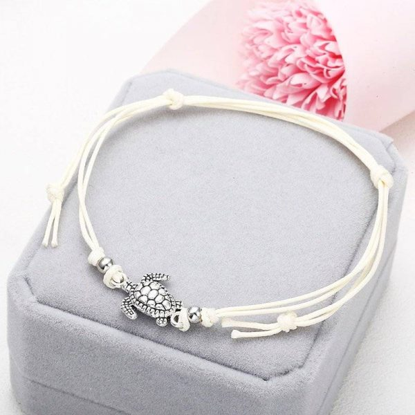 Women's Turtle Anklet or Bracelet