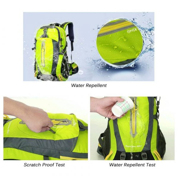 Nice Looking Stylish 40L Waterproof Backpack for Him and Her
