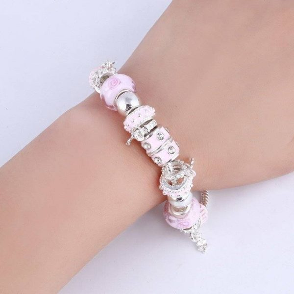 Popping Fashionable Charm Bracelets