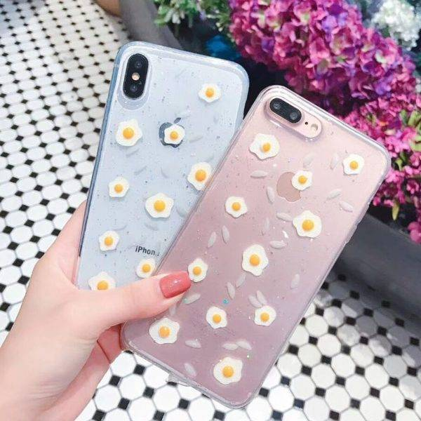 Transparent Soft TPU Case for iPhone