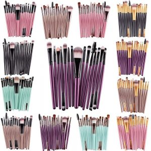 Set of Makeup Brushes (15 or 6 pieces)
