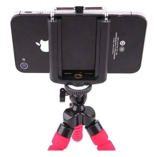 Flexible Mobile Phone Camcorder Camera Holder Tripod.