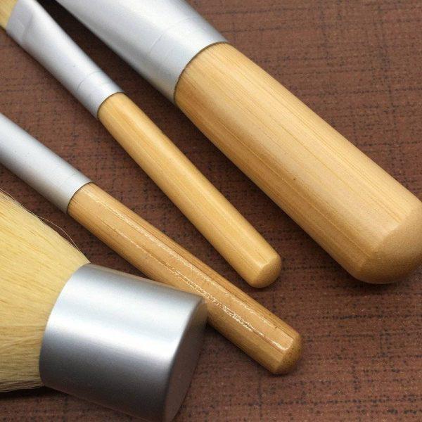 Bamboo Travel Makeup Brush Set