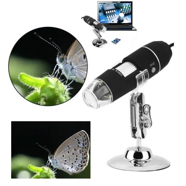 USB Digital Microscope 2MP 1000X Zoom Camera Magnifier