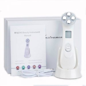 Electroporation Face Beauty Anti Aging Device 5 in1 RF & EMS Radio (No Needle Mesotherapy)