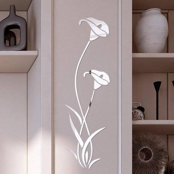3D DIY Flower Acrylic Wall Sticker