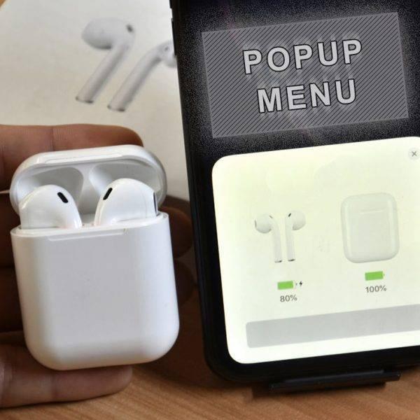*New* Next Gen Wireless Airpods | Touch Control | Bluetooth 5.0 + 3D Surround Sound | Earbud Earphones