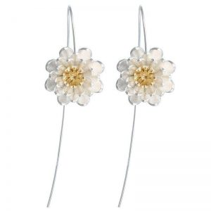 Long Flower Earrings