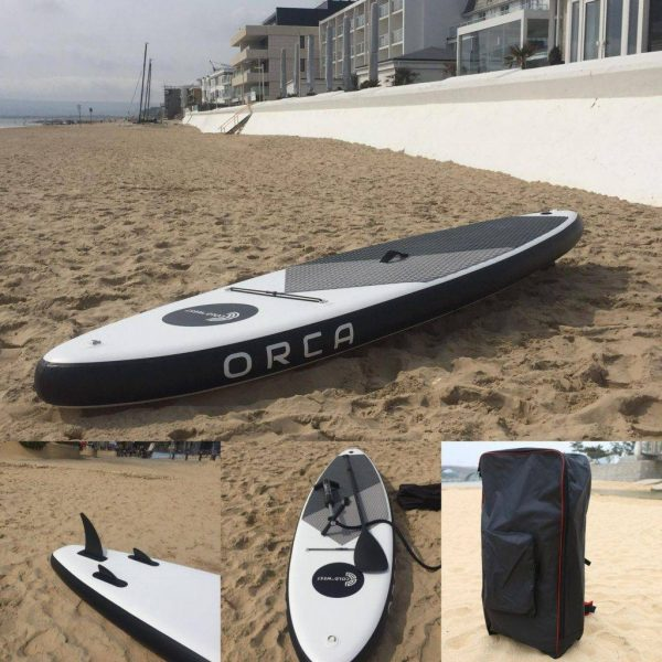 The ORCA Stand Up Inflatable Paddleboard Kit   Inflatable  Travel SUP Kit