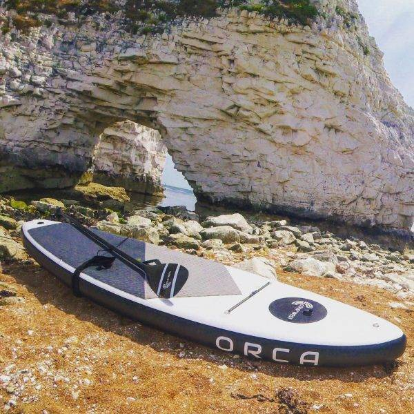 The ORCA Stand Up Inflatable Paddleboard Kit | Inflatable  Travel SUP Kit