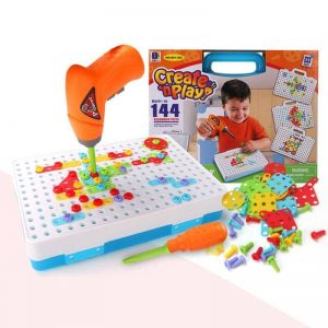 Children's Drill Puzzle Educational Toy