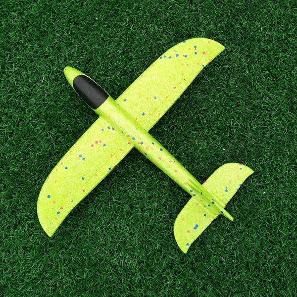 Kid's Toy Model Aeroplane With LED | Tough To Break Foam