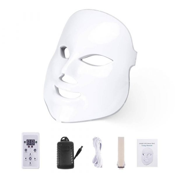 LED Facial Mask SPA Therapy 7 Colour Modes