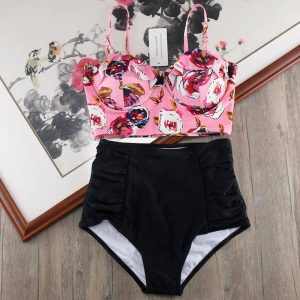 High Waist Plus Size Bikini Swimwear Women