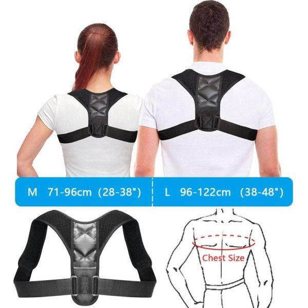 Posture Corrector | Upper Back Shoulder & Spinal Support