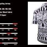 Themed Cycling Jerseys Skull Wolf Day of The Dead Sport and Recreation