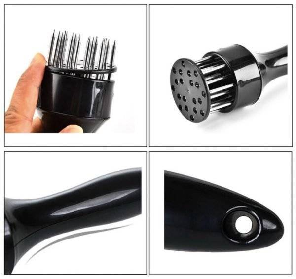 *NEW* Professional Meat Tenderizer Stainless Steel Needles