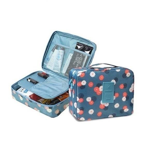 Women's Compact Travel Makeup Beauty Bag