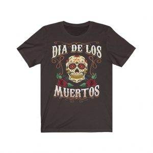 Day Of The Dead (Dia De Los Muertos) Unisex Jersey Short Sleeve T Shirt