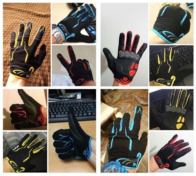 cycling gloves user show