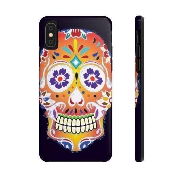 Sugar Skull Phone Case For Apple Phones