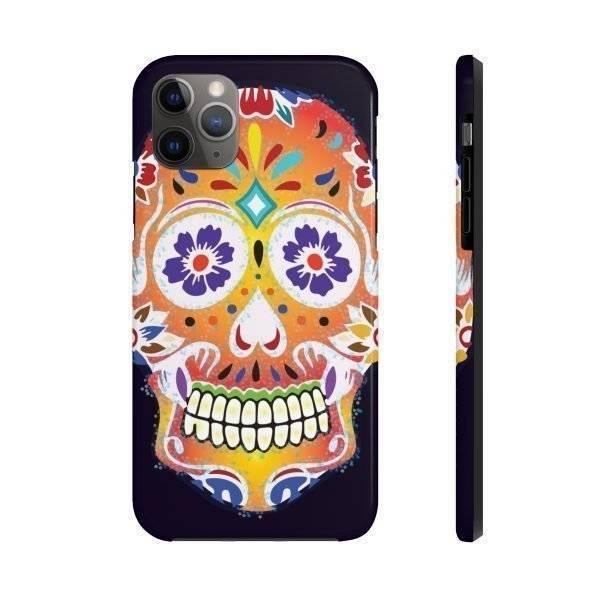 Sugar Skull Phone Case For Apple Phones