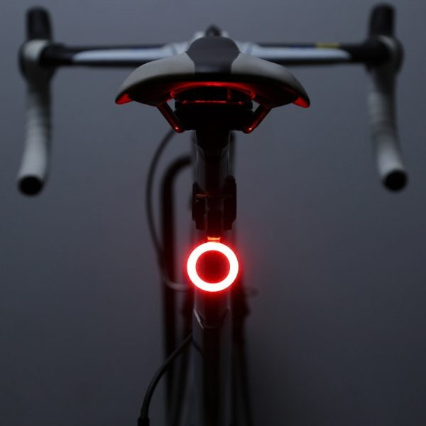 Unique LED Bicycle Rear Light | Multi Lighting Modes | USB Charge