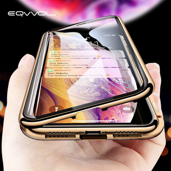 Magic Touch Screen IPhone Case Magnetic | No Screen Protector Required!!