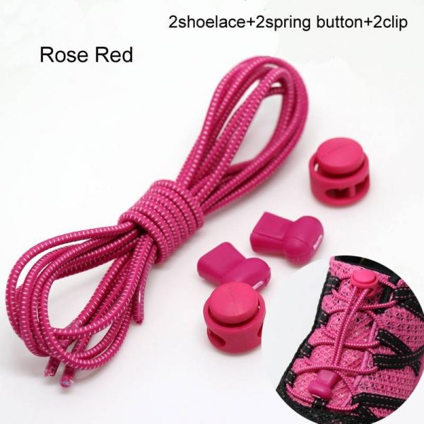 Easy Laces Lockable Elastic Shoelaces
