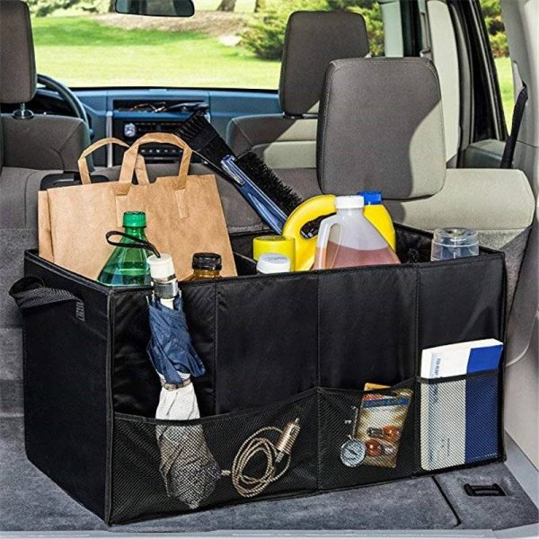 Portable Car Boot Trunk Organizer
