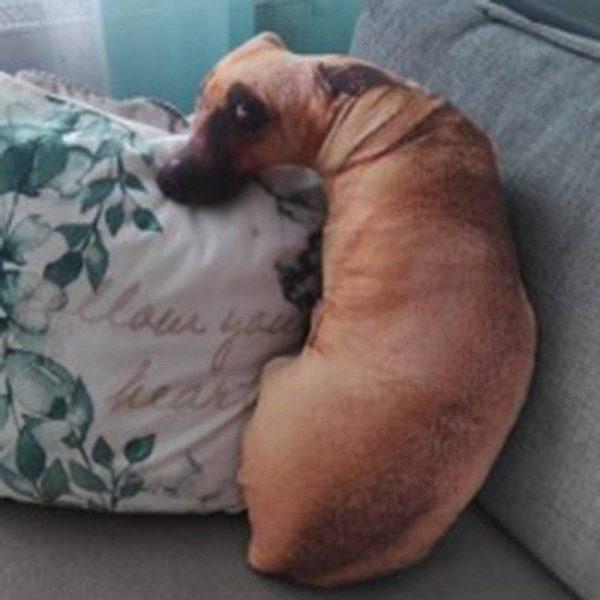 YOUR Lifelike Guilty Dog Loving Cute Dog Pillow Cushion