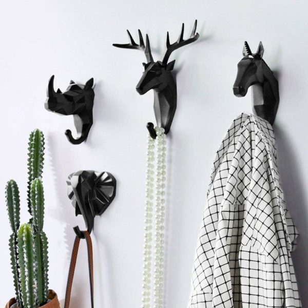 Delightful Animal Head Wall Hooks