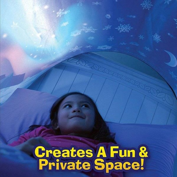Pop Up Dream Tent  Foldable Playhouse & Comforting Sleep Aid