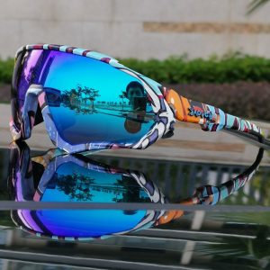 TR90 Polarized Sports Cycling Sunglasses MTB  Mountain Bike Myopic Frame